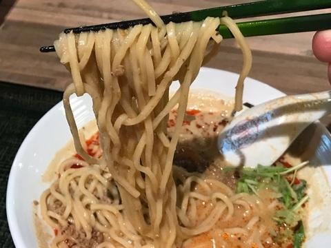 175°DENO〜担々麺〜北口店の担々麺麺リフト