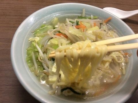 新潟喜ぐちラーメンタンメン麺リフト