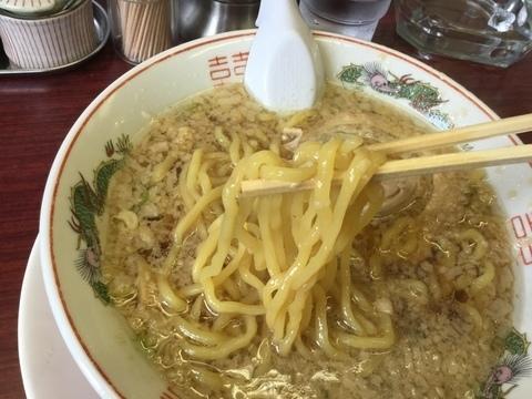 新潟背脂煮干醤油にしやま亭太麺リフト