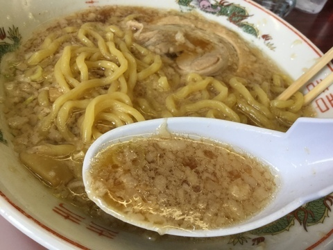 新潟背脂煮干醤油にしやま亭スープ