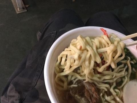 西武ドーム沖縄そばリトル沖縄ソーキそば麺リフト