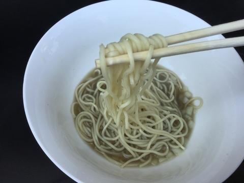 アグリパークゆめすぎと構内ラーメン煮干乱舞麺リフト
