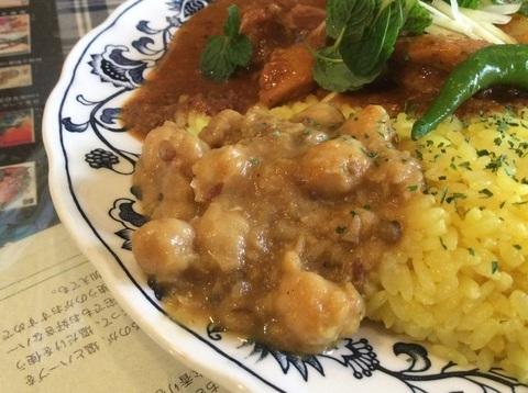 相模原カレーの店マボロシちょいのせ豆カレー