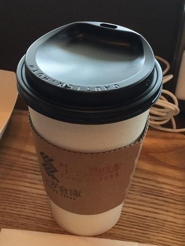 神戸空港黒レンガ倉庫CafeHOTコーヒーLサイズ