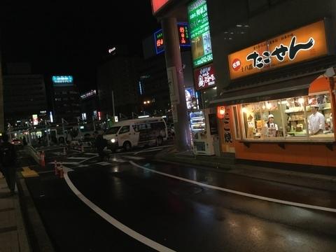 新潟駅前たこせん十八番たこせん店頭別アングル